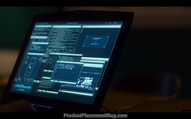 Alienware Laptop in Devs S01E02 (2020)