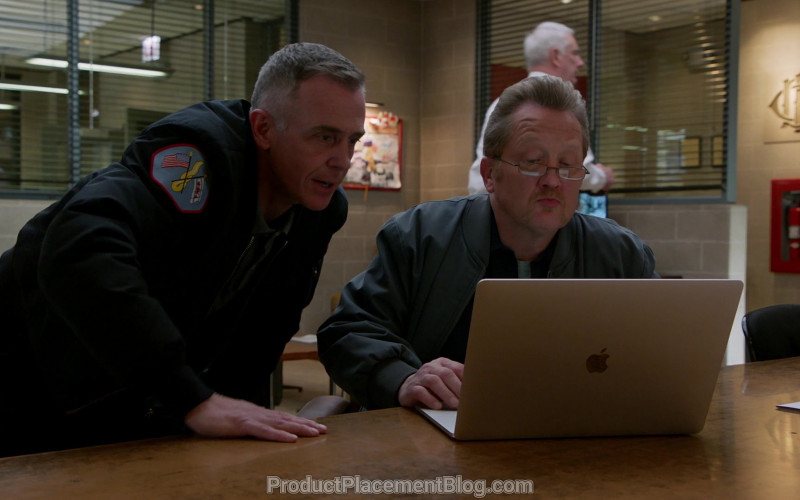 Apple MacBook Laptop Used by David Eigenberg & Christian Stolte in Chicago Fire S08E16