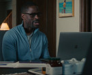 Apple MacBook Laptop Used by Sterling K. Brown as Randall Pearson in This Is Us S04E16 (1)