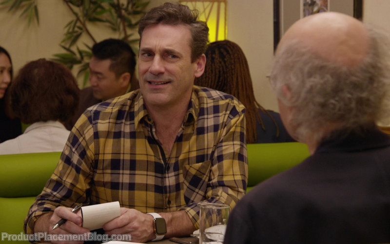 Apple Watch Worn by Jon Hamm in Curb Your Enthusiasm S10E08