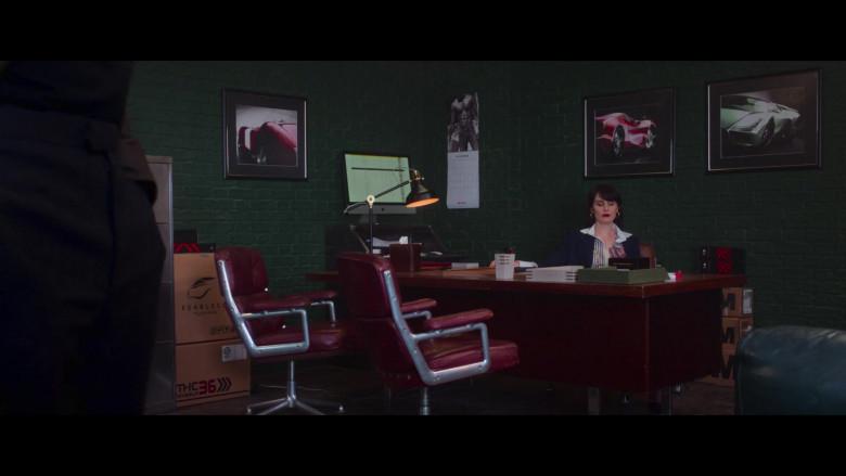 Apple iMac Computer Used by Michelle Dockery in The Gentlemen (2019)