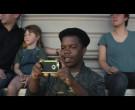 Apple iPhone Smartphone Held by Darius Amarfio Jefferson as ...