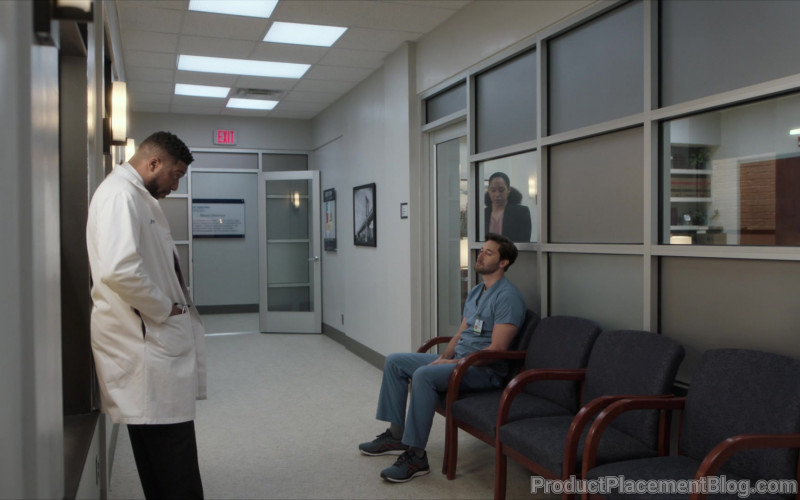 Asics Sneakers Worn by Ryan Eggold as Dr. Max Goodwin in New Amsterdam S02E16 (2)