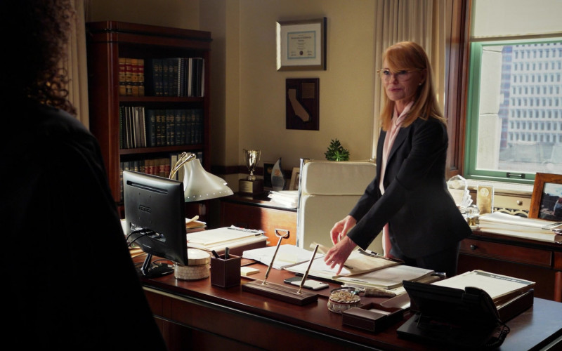 Asus Monitor Used by Marg Helgenberger as Judge Lisa Benner in All Rise S01E18
