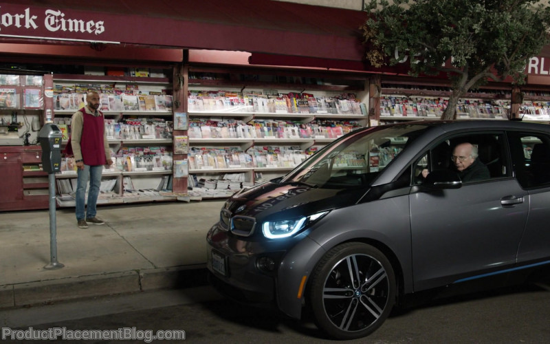 BMW i3 Car in Curb Your Enthusiasm S10E08 Elizabeth, Margaret and Larry (2)