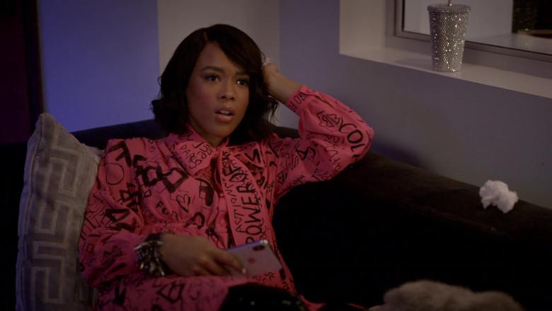 Balenciaga Pink Dress in Empire S06E14 (4)