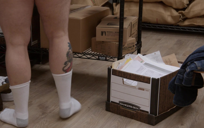 Bankers Box in Curb Your Enthusiasm S10E10