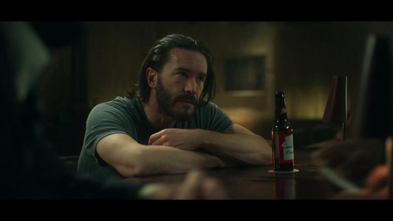 Budweiser Beer Bottle in Ozark S03E08