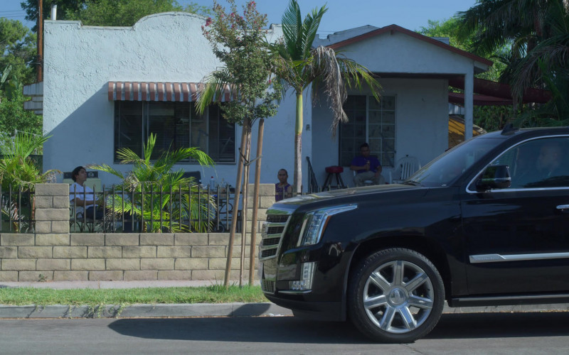 Cadillac Escalade Black Car in On My Block S03E07