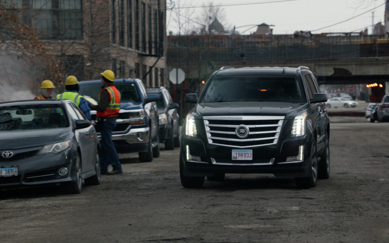 Cadillac Escalade Car in Chicago P.D. S07E17 Before the Fall (2020)