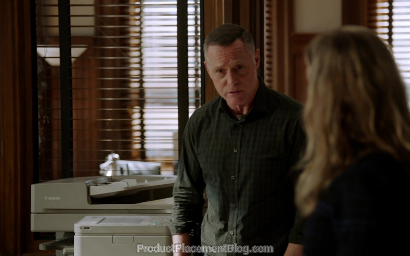 Canon Multifunction Printer in Chicago P.D. S07E16 Burden of Truth (2020)