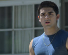 Champion T-Shirt Worn by Diego Tinoco as Cesar Diaz in On My Block S03E02 (2)