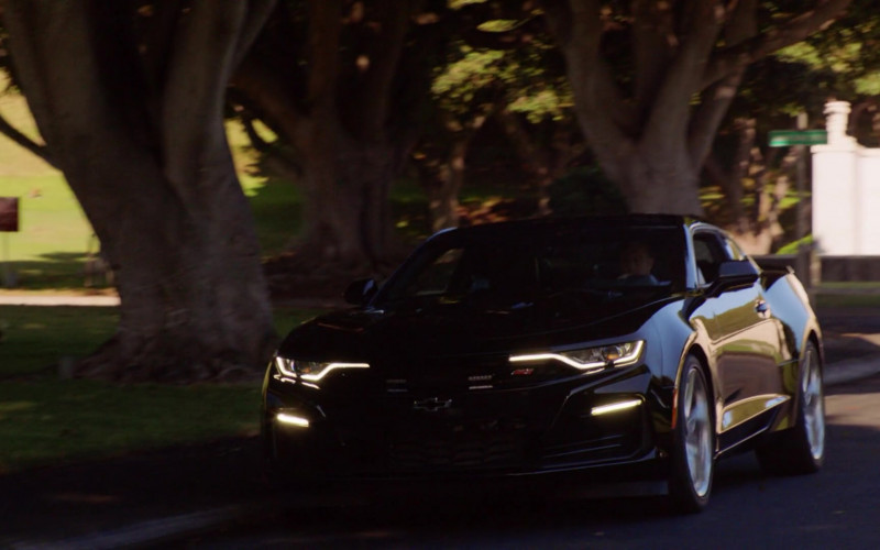 Chevrolet Camaro Black Car Driven by Scott Caan as Detective Sergeant Danny 'Danno' Williams, HPD (1)