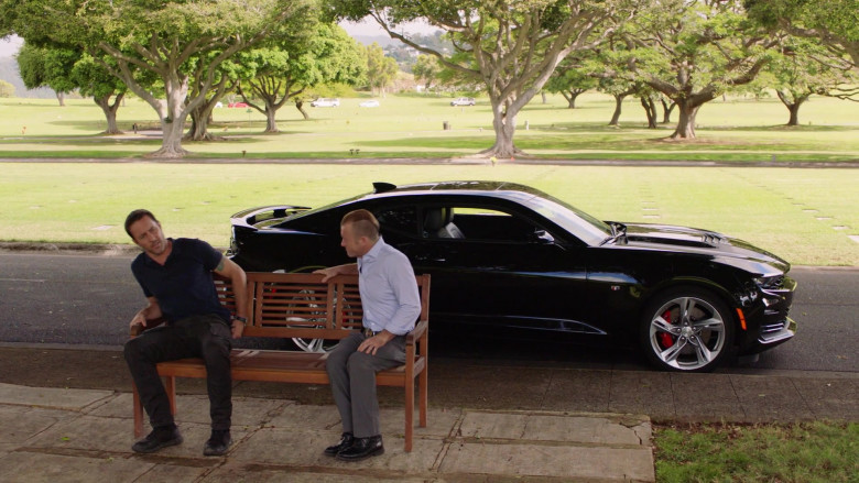 Chevrolet Camaro Black Car Driven by Scott Caan as Detective Sergeant Danny 'Danno' Williams, HPD (2)