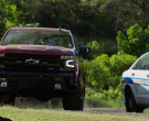 Chevrolet Silverado Z71 Off-Road Package Red Pickup Truck in Hawaii Five-0 S10E19 (1)