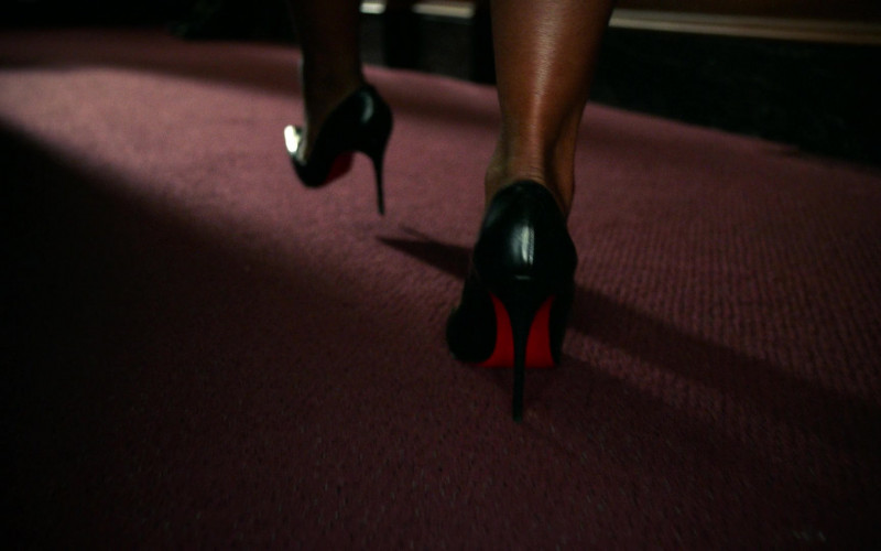 Christian Louboutin Shoes Worn by Simone Missick as Judge Lola Carmichael in All Rise S01E18 (1)