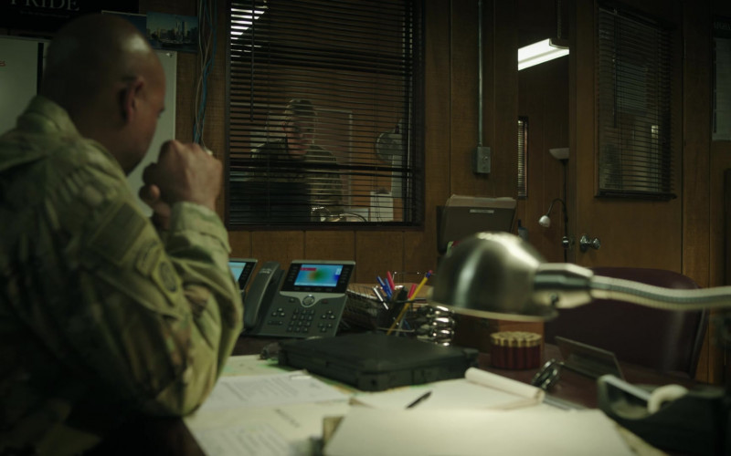 Cisco Phone Used by Lamont Thompson as Colonel Harlan Austin in 68 Whiskey S01E10