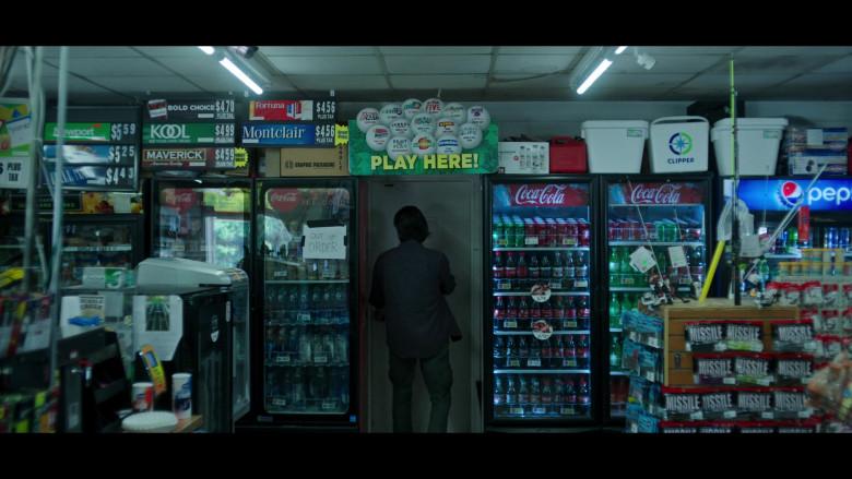 Coca-Cola, Pepsi, Maverick, KOOL, Fortuna and Montclair Cigarettes in Ozark S03E09 (1)