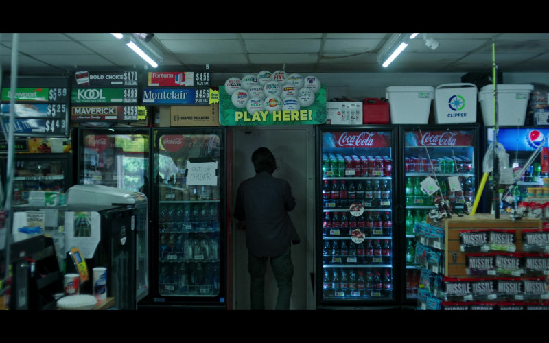 Coca-Cola, Pepsi, Maverick, KOOL, Fortuna and Montclair Cigarettes in Ozark S03E09 (1)