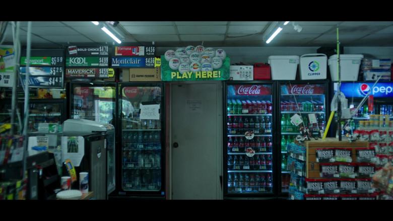 Coca-Cola, Pepsi, Maverick, KOOL, Fortuna and Montclair Cigarettes in Ozark S03E09 (2)