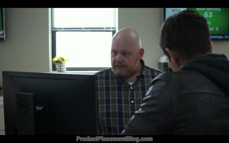 Dell Computer Monitor in Spenser Confidential (2020)