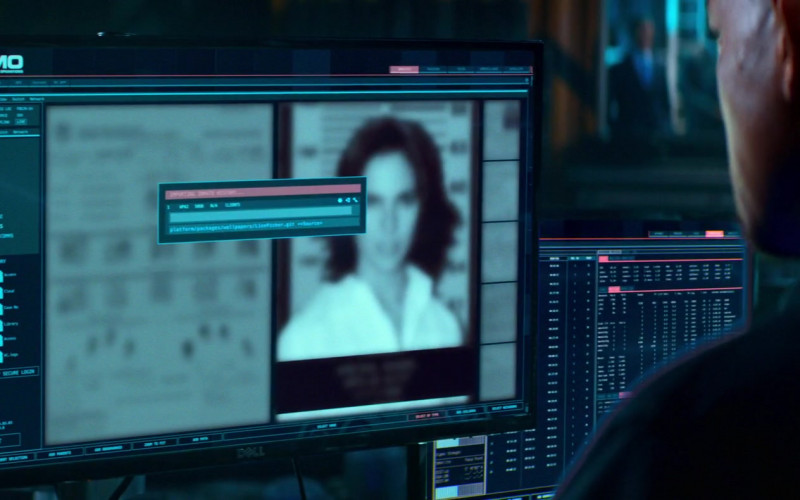 Dell Monitor Used by Will Smith as Detective Lieutenant Michael Eugene 'Mike' Lowrey in Bad Boys for Life