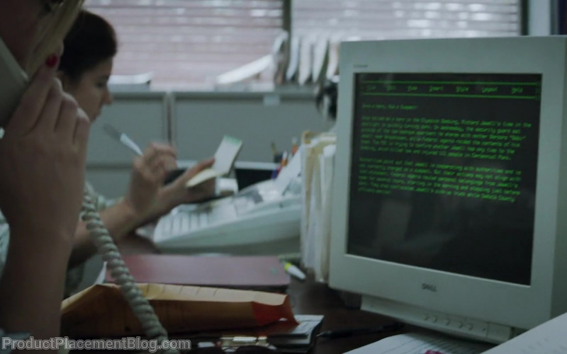 Dell Monitor in Richard Jewell (2019)