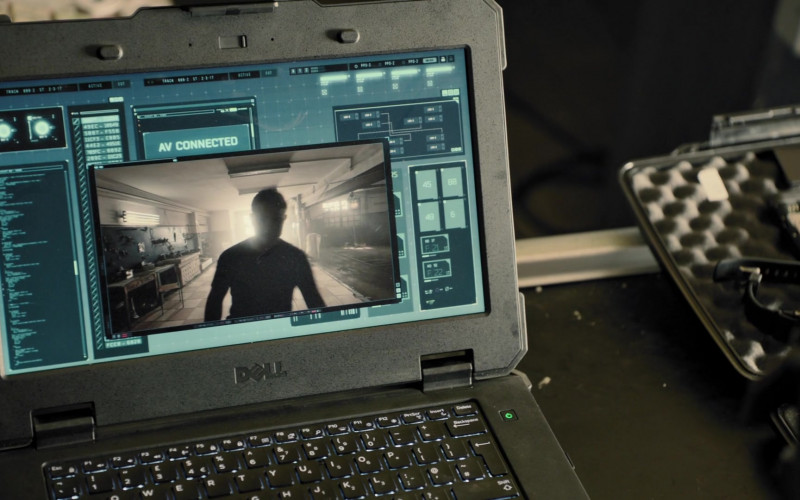 Dell Notebook in Strike Back S08E05 (1)