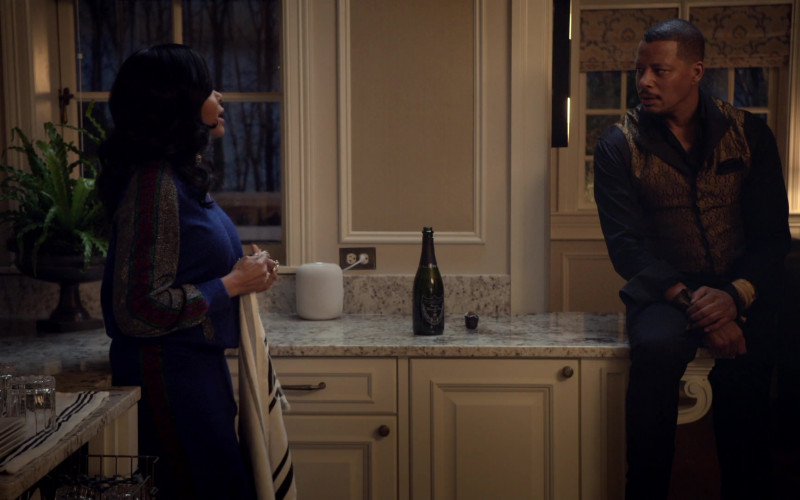 Dom Pérignon Champagne in Empire S06E13