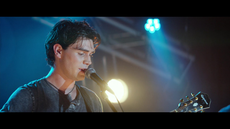 Epiphone Guitar Used by KJ Apa as Jeremy Camp in I Still Believe (1)