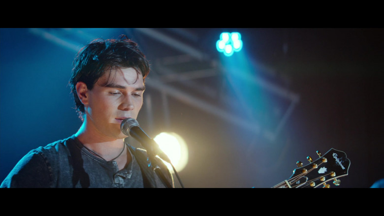 Epiphone Guitar Used by KJ Apa as Jeremy Camp in I Still Believe (2)