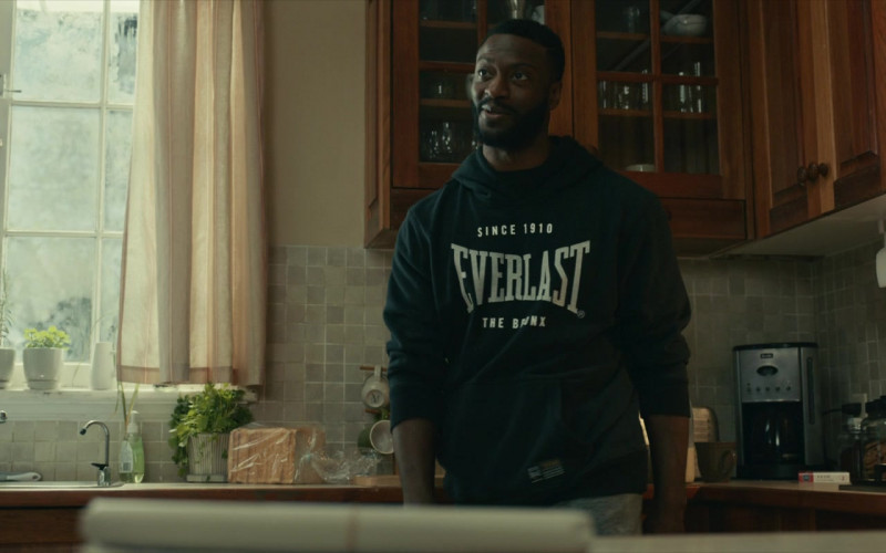 Everlast Hoodie Worn by Aldis Hodge in The Invisible Man (2020)