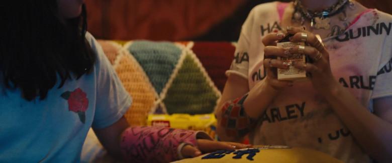 Farmland Milk Held by Margot Robbie as Harleen Quinzel Harley Quinn in Birds of Prey