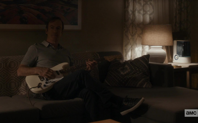 Fender Guitar Held by Bob Odenkirk in Better Call Saul S05E06
