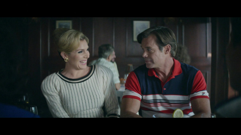 Fila Men's Polo Shirt in Black Monday S02E04 Fore! (2)