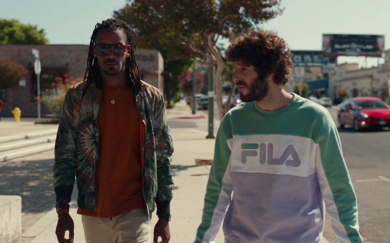 Fila Sweatshirt Worn by Dave Burd in Dave S01E04 (1)