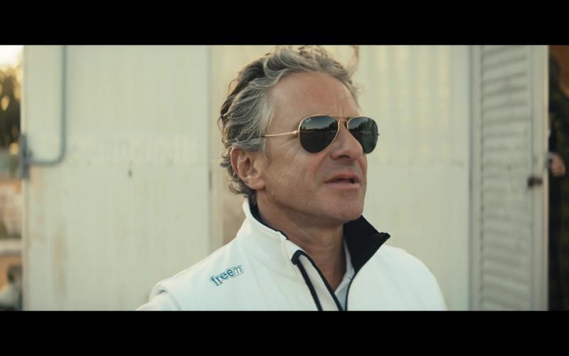 Freem Racewear and Ray-Ban Aviator Sunglasses in Go Karts