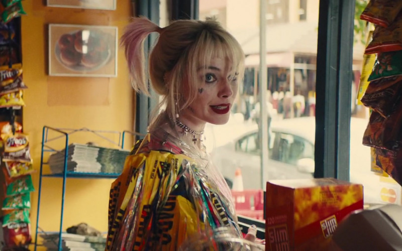 Fritos Chips and Slim Jim in Birds of Prey