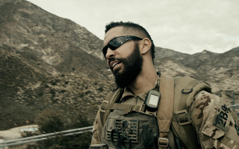 Gatorz Sunglasses Worn by Neil Brown Jr. in SEAL Team S03E15