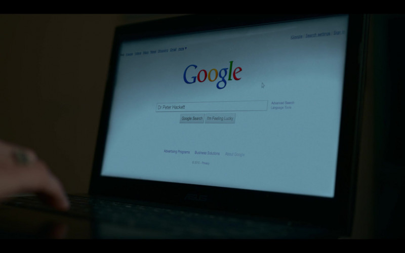 Google Website in Lost Girls