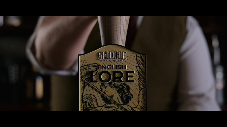 Gritchie English Lore Beer in The Gentlemen (1)