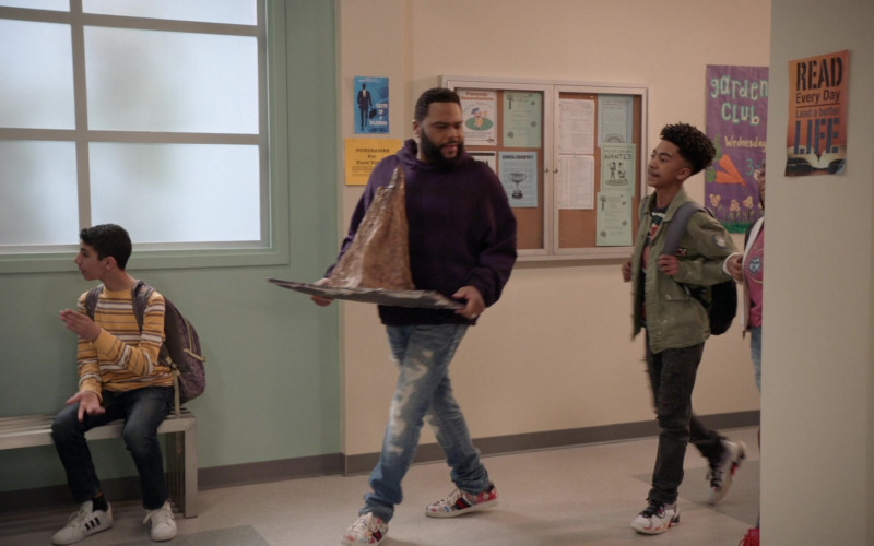 Gucci Sneakers Worn by Anthony Anderson in Andre 'Dre' Johnson in Black-ish S06E19