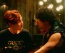 Gucci Women's Black T-Shirt in Followers S01E04 Flaming (2)