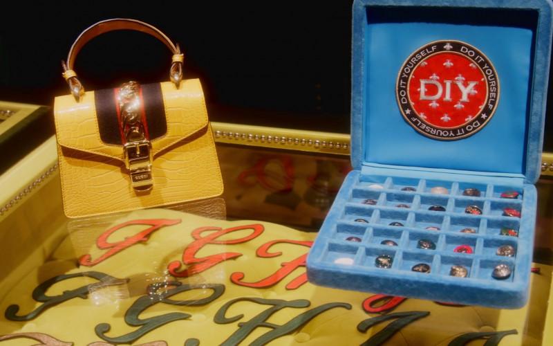 Gucci Yellow Handbag in Followers S01E03 Search