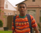 Guess T-Shirt Worn by Brett Gray as Jamal Turner in On My Block S03E02 (1)