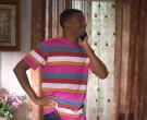 HUF T-Shirt Worn by Brett Gray as Jamal Turner in On My Block S03E06 (3)