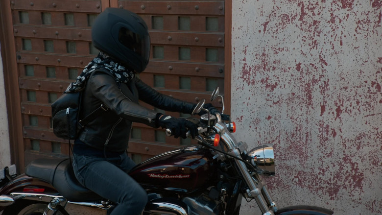 Harley-Davidson Motorcycle Used by Medalion Rahimi as NCIS Special Agent Fatima Namazi in NCIS Los Angeles (1)
