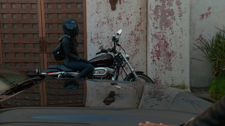 Harley-Davidson Motorcycle Used by Medalion Rahimi as NCIS Special Agent Fatima Namazi in NCIS Los Angeles (2)