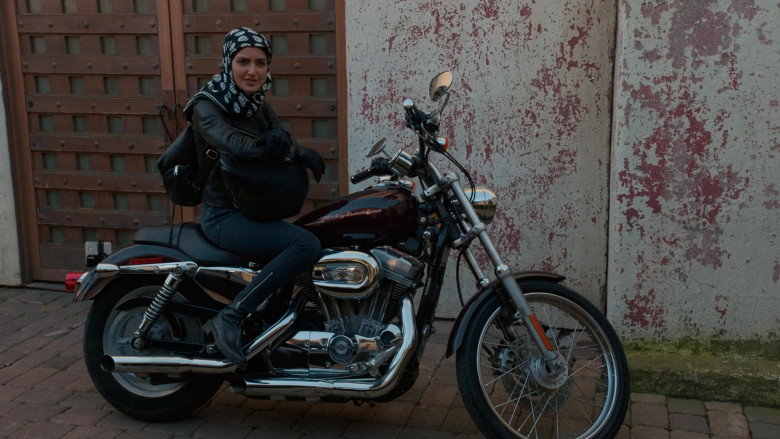 Harley-Davidson Motorcycle Used by Medalion Rahimi as NCIS Special Agent Fatima Namazi in NCIS Los Angeles (3)