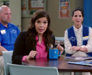 Hydro Flask Blue 12 oz Travel Coffee Mug Used by America Ferrera as Amy in Superstore S05E19 (2)
